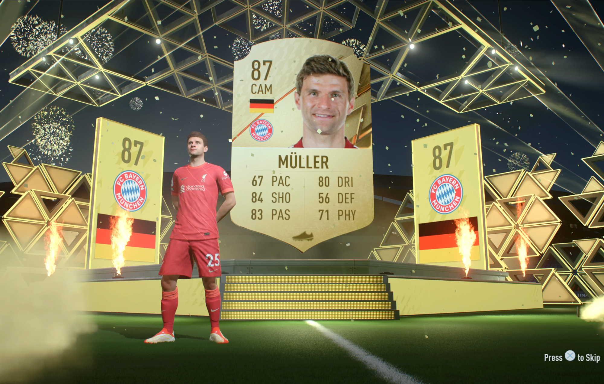 FIFA 22 - fut Muller