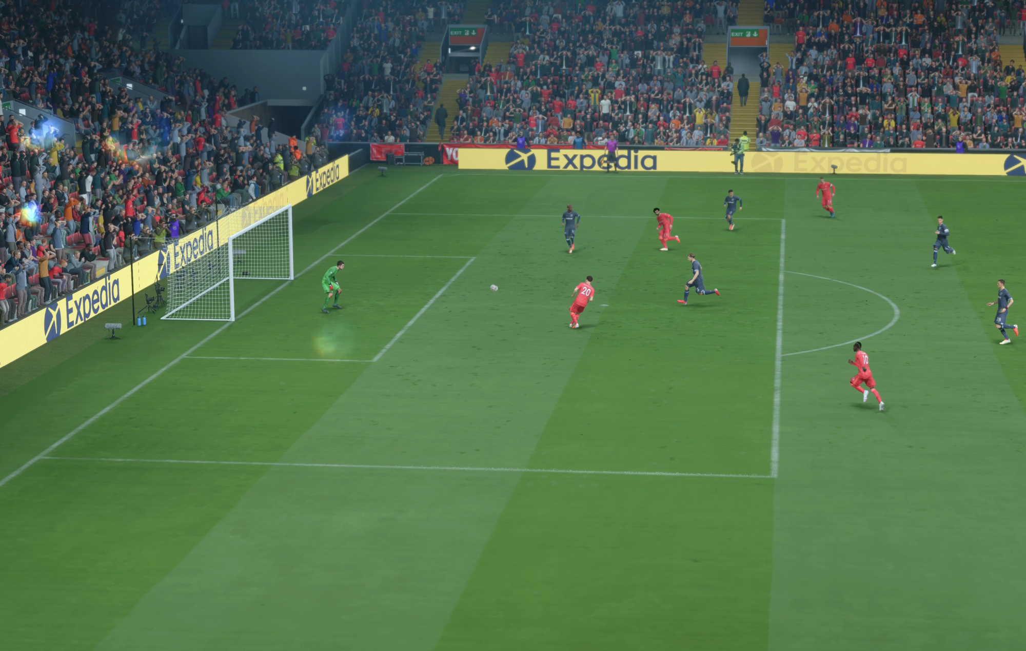 FIFA 22 - liverpool west ham jota goal