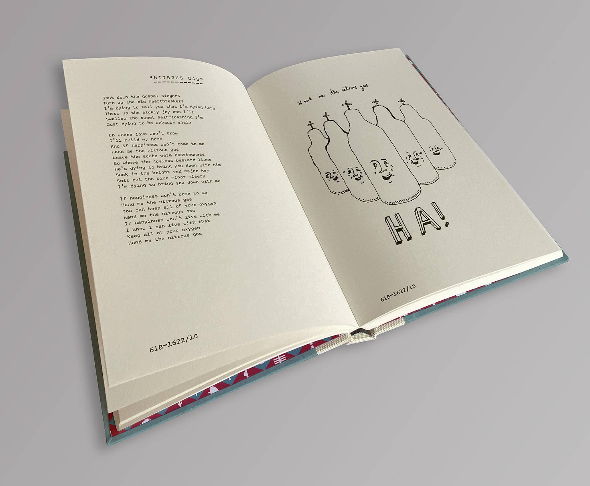 Frightened Rabbit to release Scott Hutchison lyrics limited edition book. Credit: Press