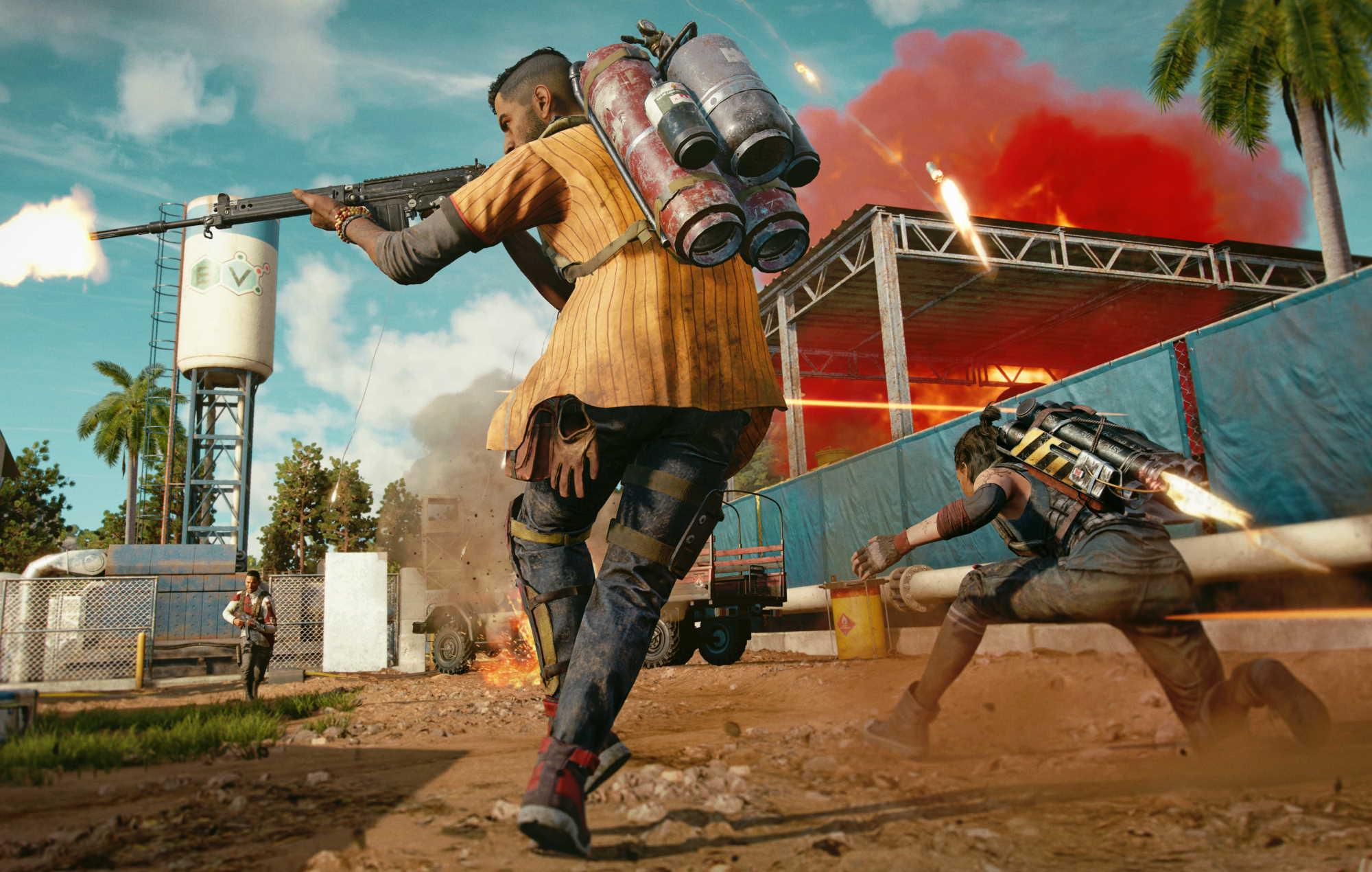 Far Cry 6 co-op play