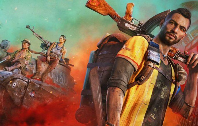 Far Cry 6 tank key art