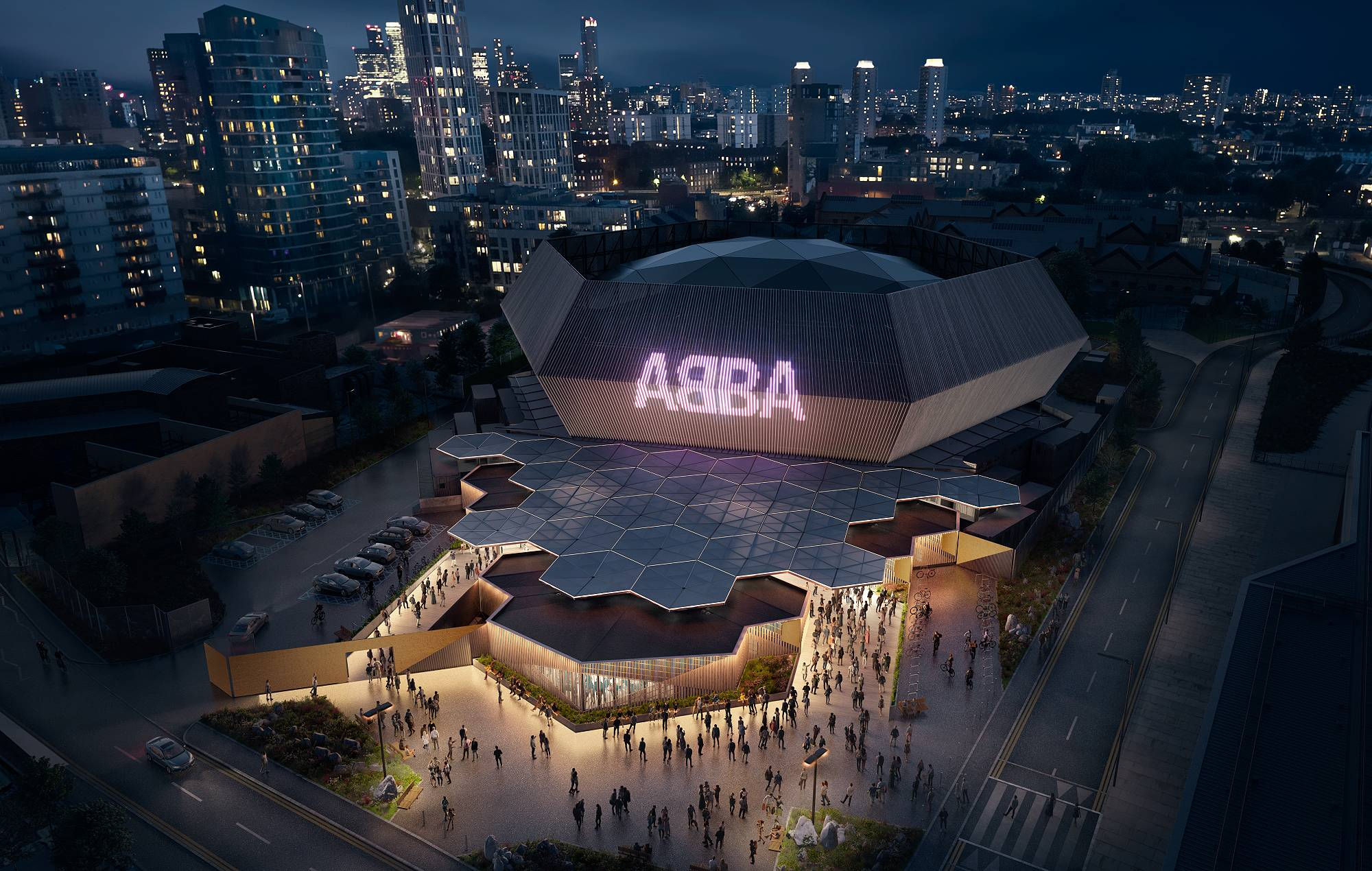 The ABBA Arena at London's Queen Elizabeth Olympic Park. Credit: Press