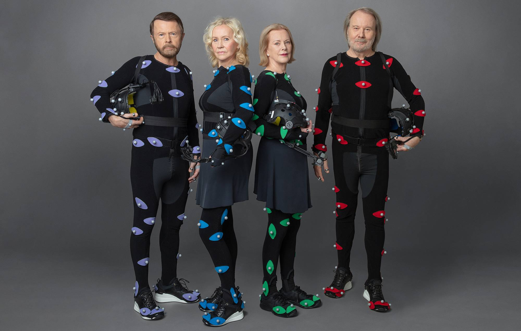 """ABBA are back with new album and """"revolutionary"""" live experience, 'ABBA: VOYAGE'. CREDIT: Press"""