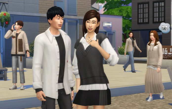 Incheon Arrivals Kit in The Sims 4. Image credit: EA/Maxis