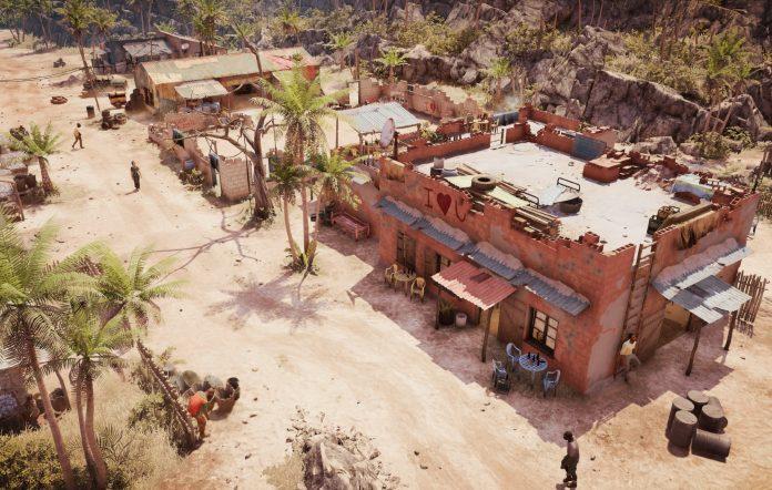 Jagged Alliance 3 map