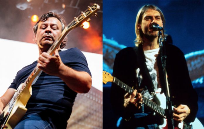 James Dean Bradfield and Kurt Cobain