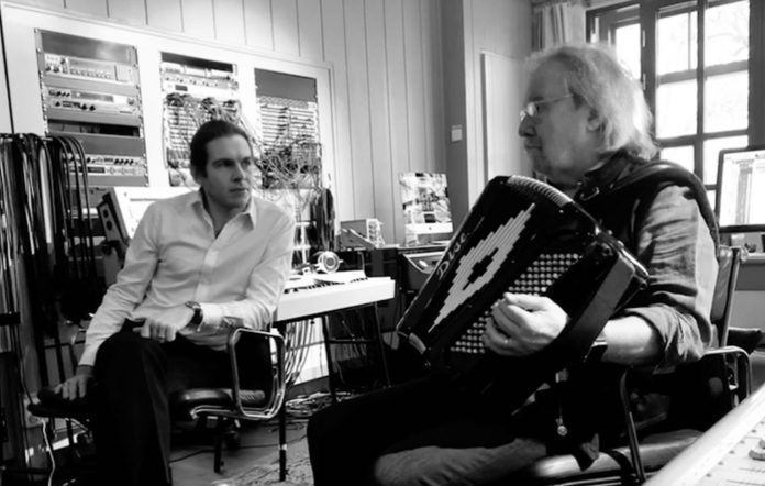 James Righton and Benny Andersson. Source Instagram