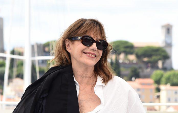 Jane Birkin attends the Cannes Film Festival