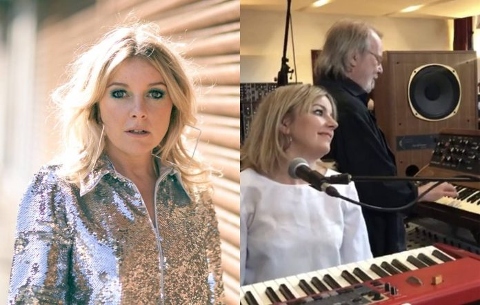 Little Boots in 2021, and rehearsing with ABBA. Credit: Patrick Balls/Victoria Hesketh