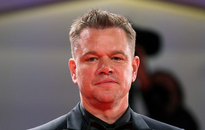 Matt Damon. Credit: Maria Moratti/Getty Images