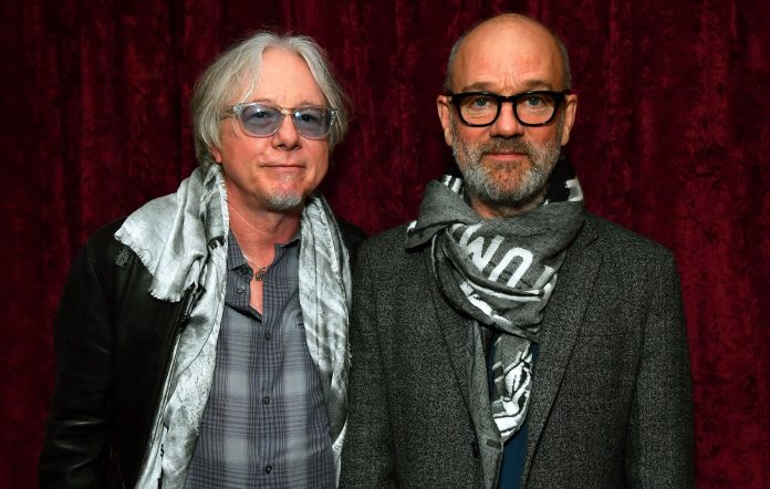 Mike Mills and Michael Stipe