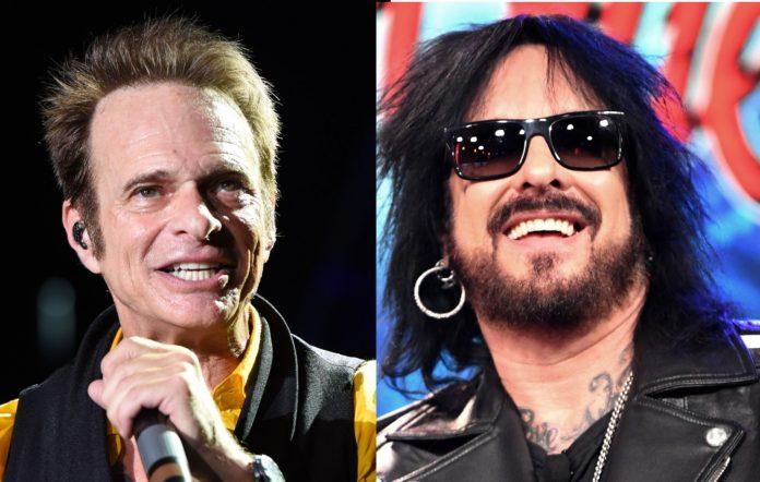David Lee Roth and Mötley Crüe
