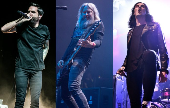 A Day To Remember, Mastodon and Creeper