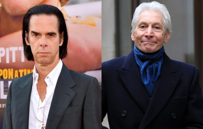 Nick Cave and Charlie Watts