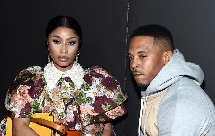 Nicki Minaj and Kenneth Petty in 2020
