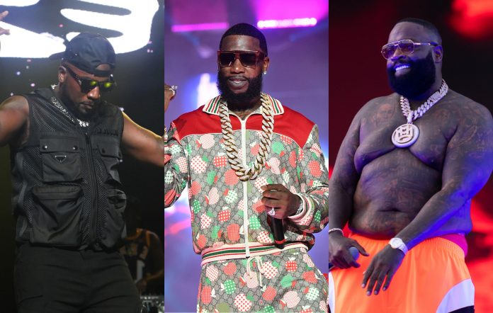 Jeezy, Gucci Mane and Rick Ross