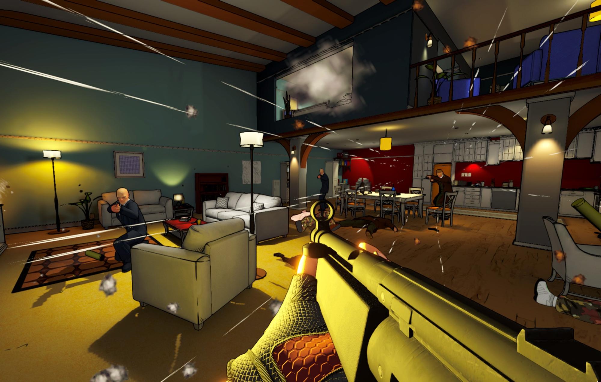 Rico: London apartment shooter