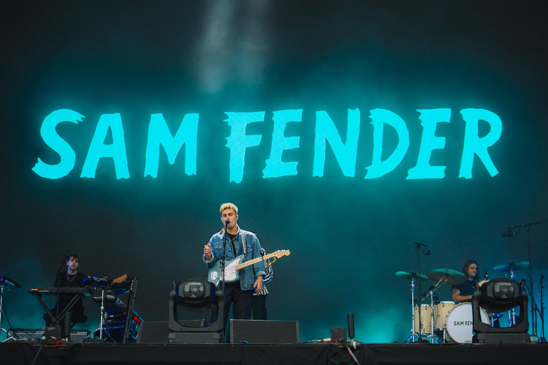 Sam Fender live at Reading 2021. Credit: Emma Viola Lilja for NME