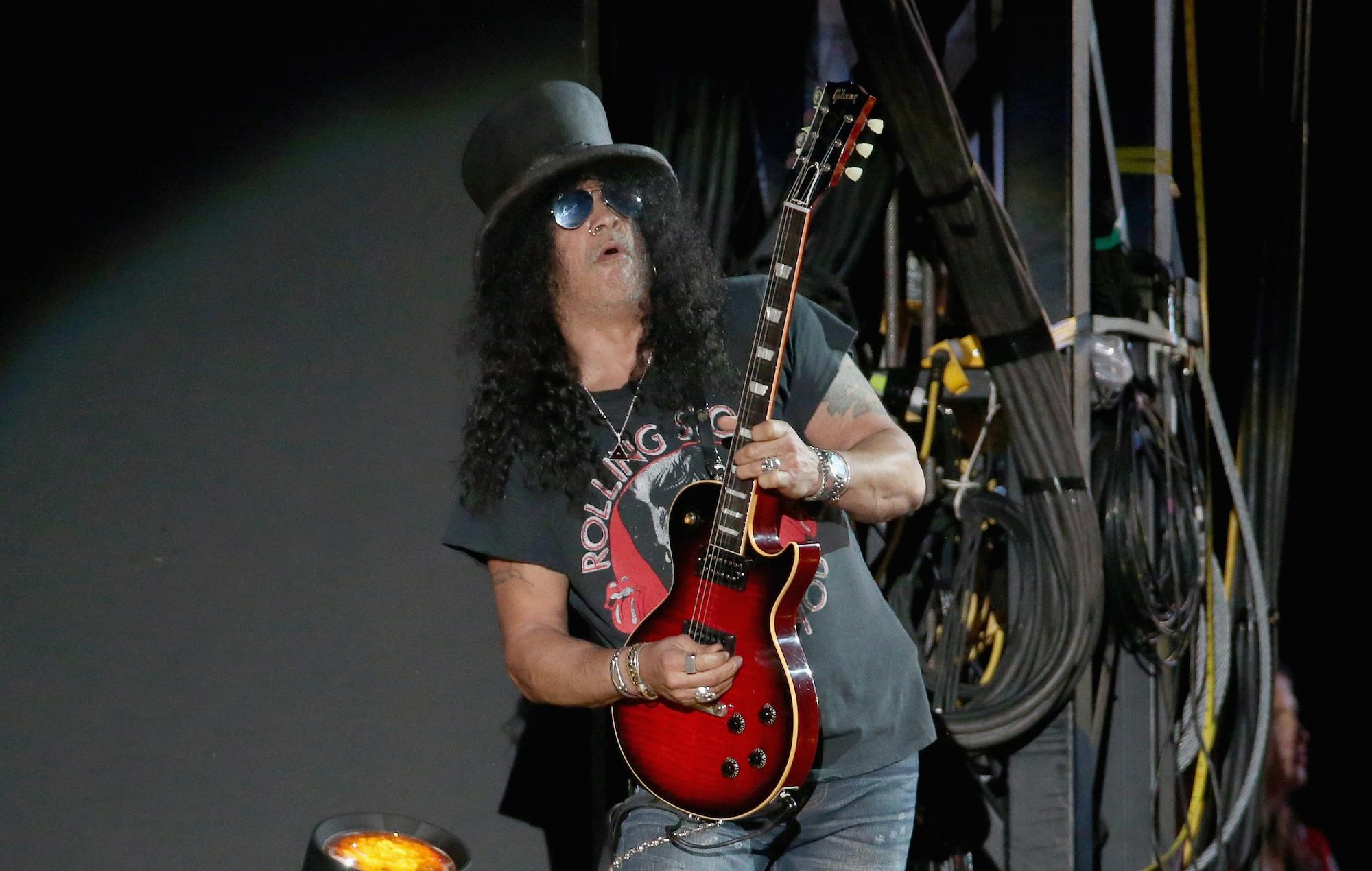 Slash of Guns N' Roses. Credit: Gary Miller/Getty Images