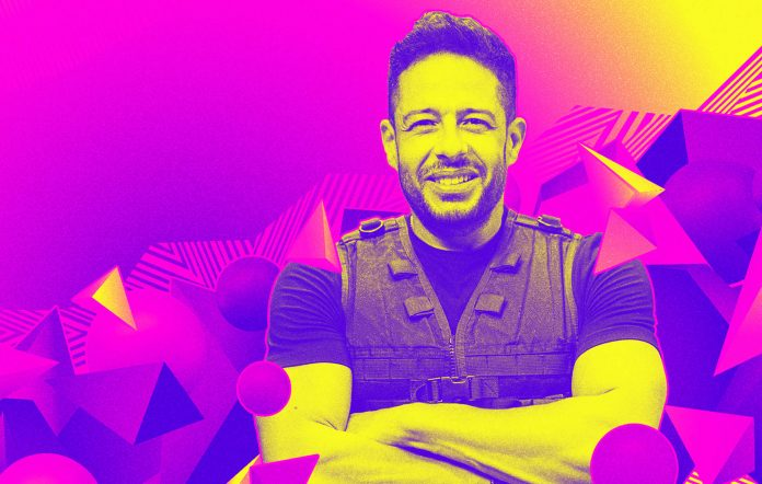 Mohamed Hamaki plays at Soundwave Series in Fortnite. Image credit: Epic Games
