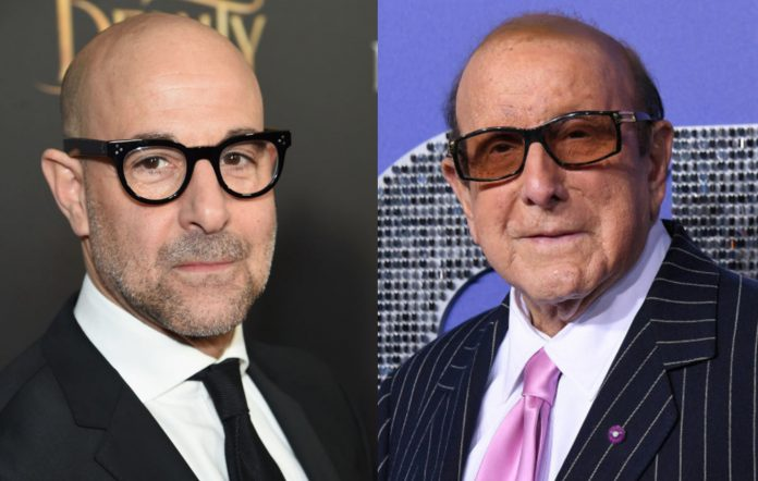 Stanley Tucci and Clive Davis