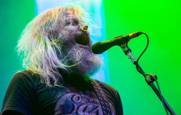 Troy Sanders of Mastodon. Credit: Miikka Skaffari/Getty Images