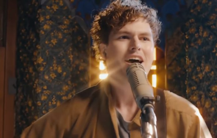 Vance Joy performing on 'The Late Late Show With James Corden'