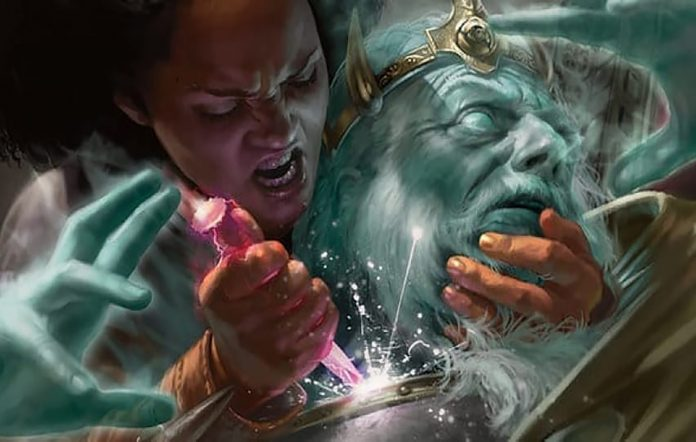 Magic: The Gathering artwork for Conspiracy: Take The Crown. Image Credit: Wizards of the Coast