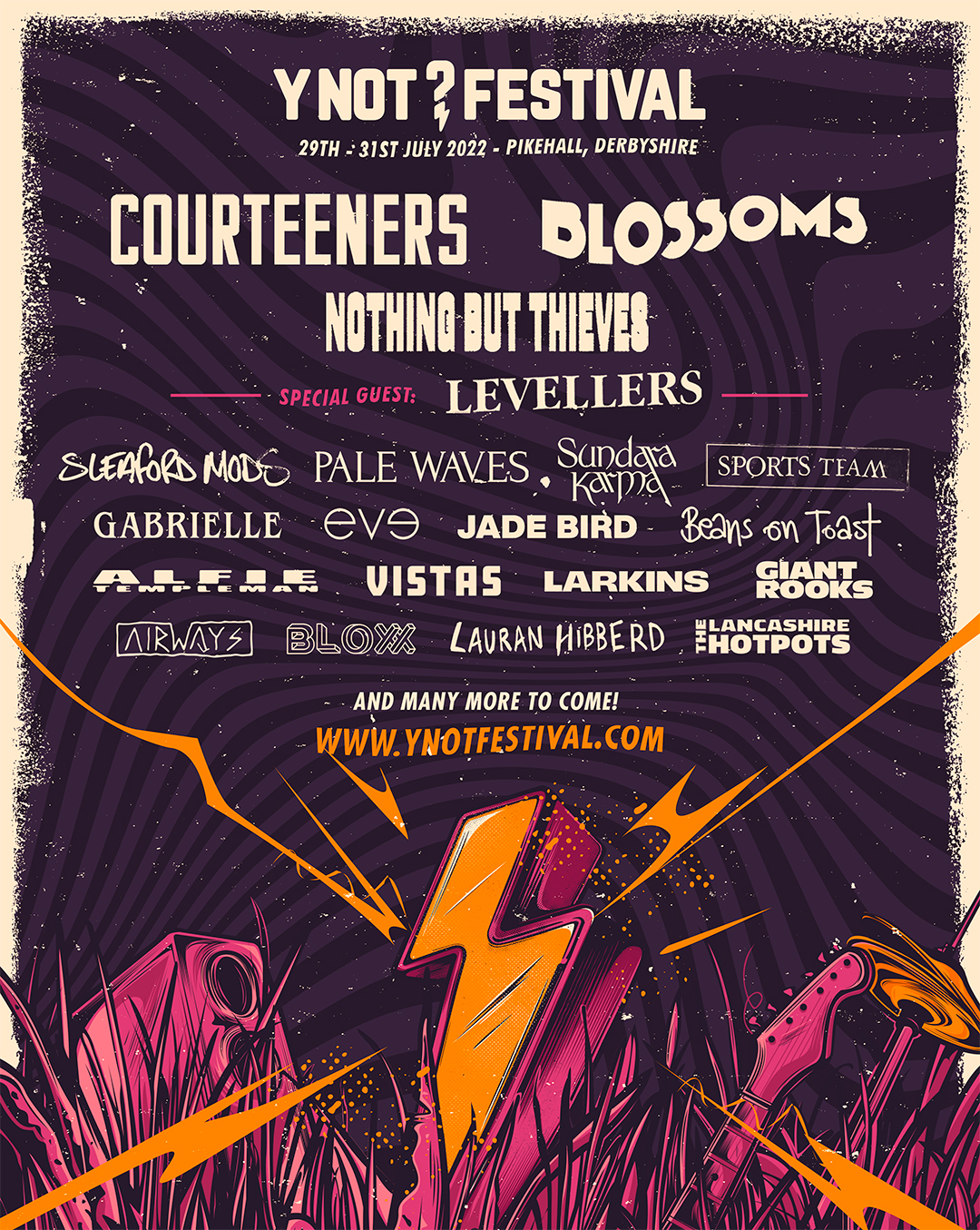 Y Not Festival 2022 line-up