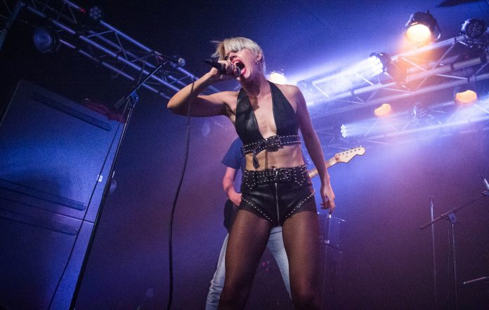 Amy Taylor from Amyl and the Sniffers