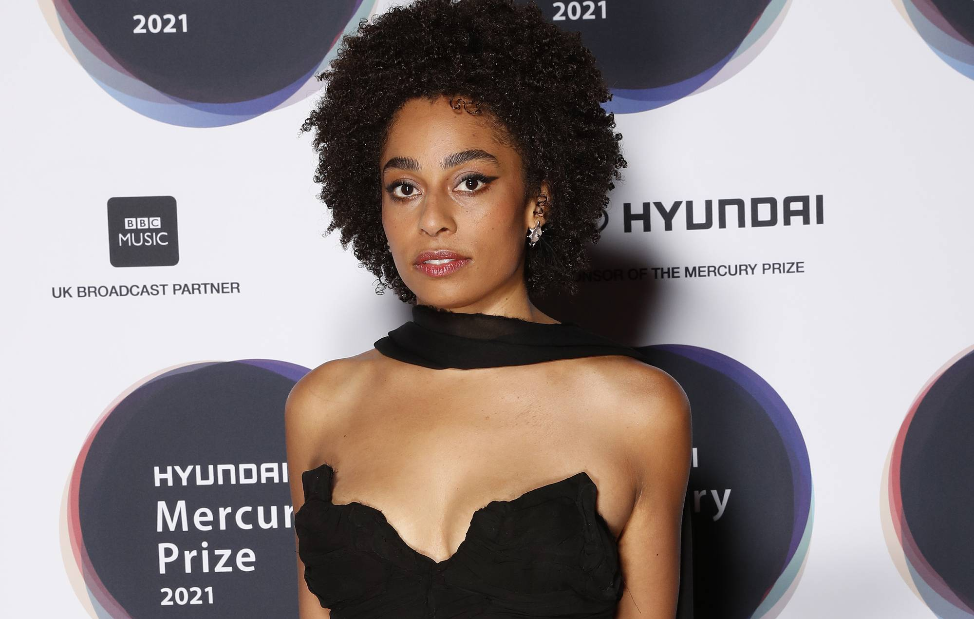Celeste attends the Hyundai Mercury Music Prize 2021 at the Eventim Apollo, Hammersmith on September 09, 2021 in London, England. (Photo by JMEnternational/Getty Images)