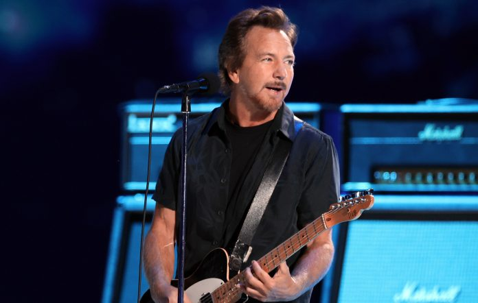 Eddie Vedder announces new solo album, shares first single 'Long Way'