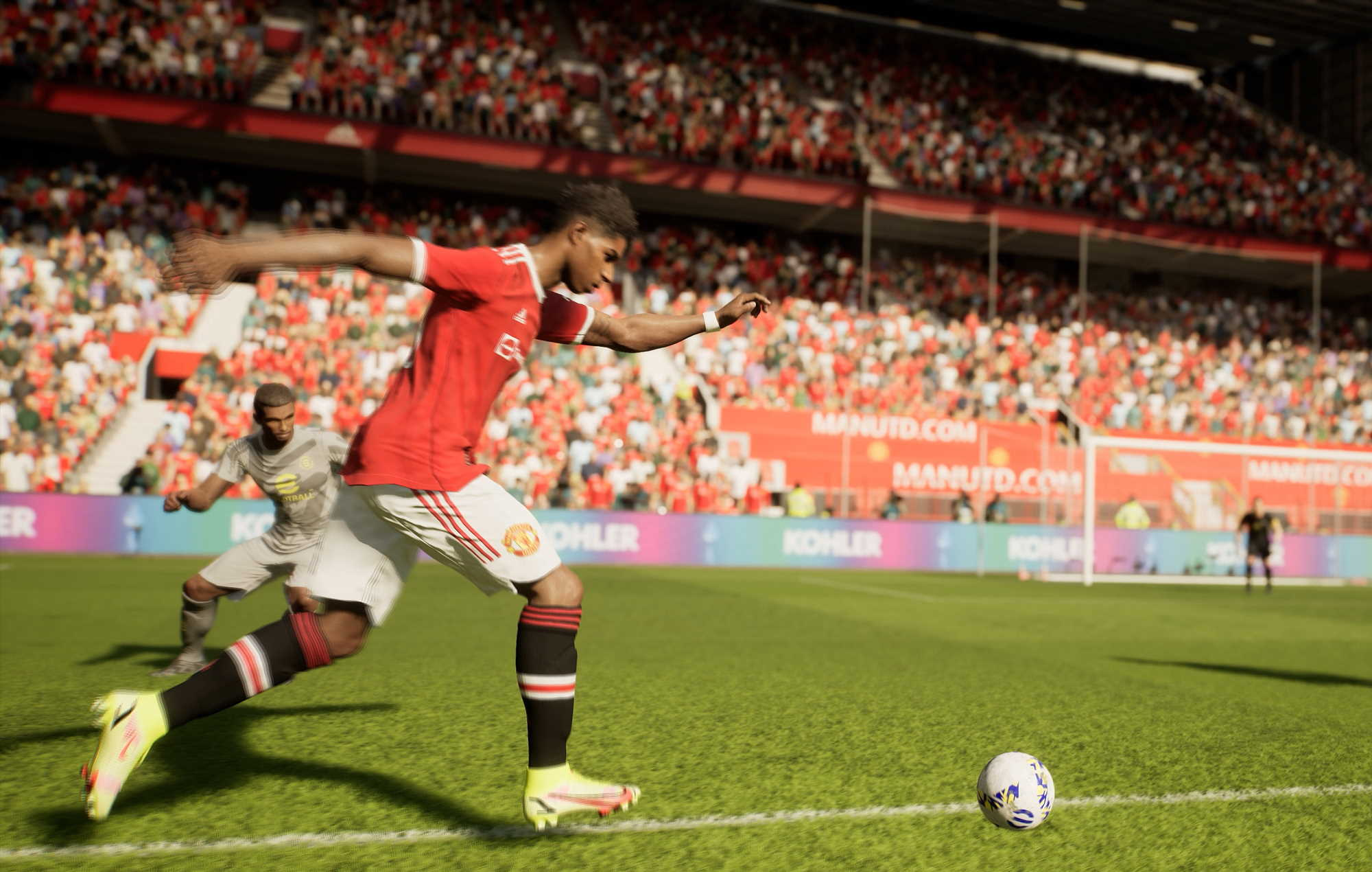 eFootball 2022: sharp kick