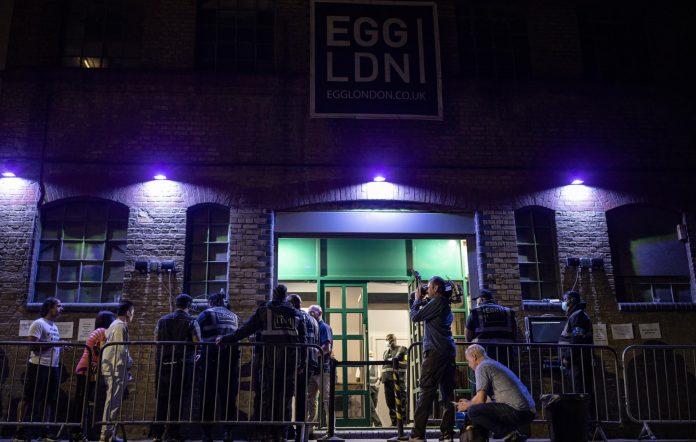 Egg nightclub