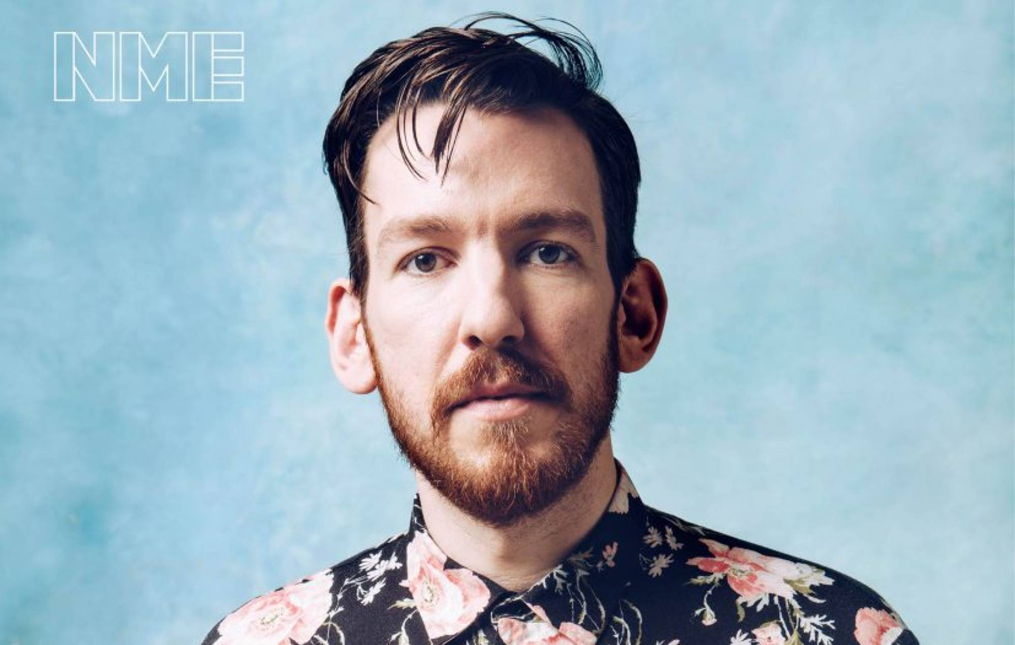 Foals' Edwin Congreave. Credit: Fiona Garden for NME