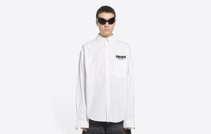 Fortnite Balenciaga shirt