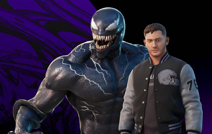Venom in Fortnite. Image credit: Epic Games