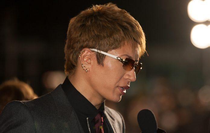Gackt announces indefinite hiatus