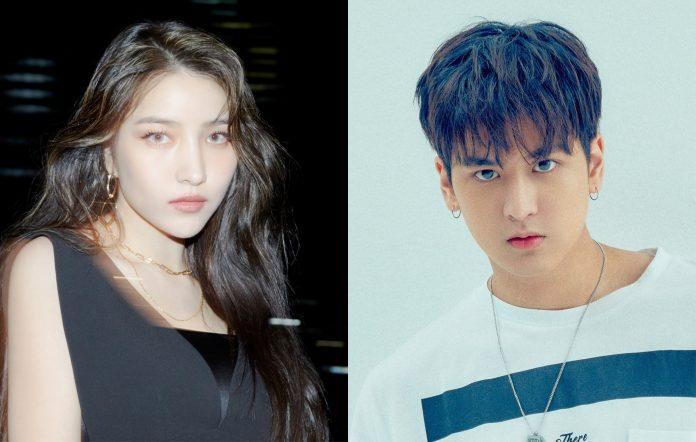 gfriend sowon lee so jung ikon chanwoo drama 20210930