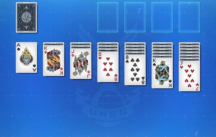 Halo Solitaire. Image credit: Windows Central/Microsoft