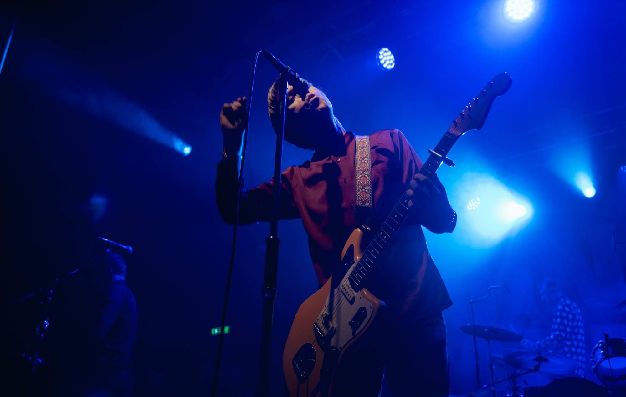 Johnny Marr live at Camden Electric Ballroom. Credit: Riaz Gomez