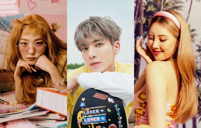 best k-pop songs august 2021 need to hear sunmi txtx red velvet dreamcatcher stray kids cix cravity