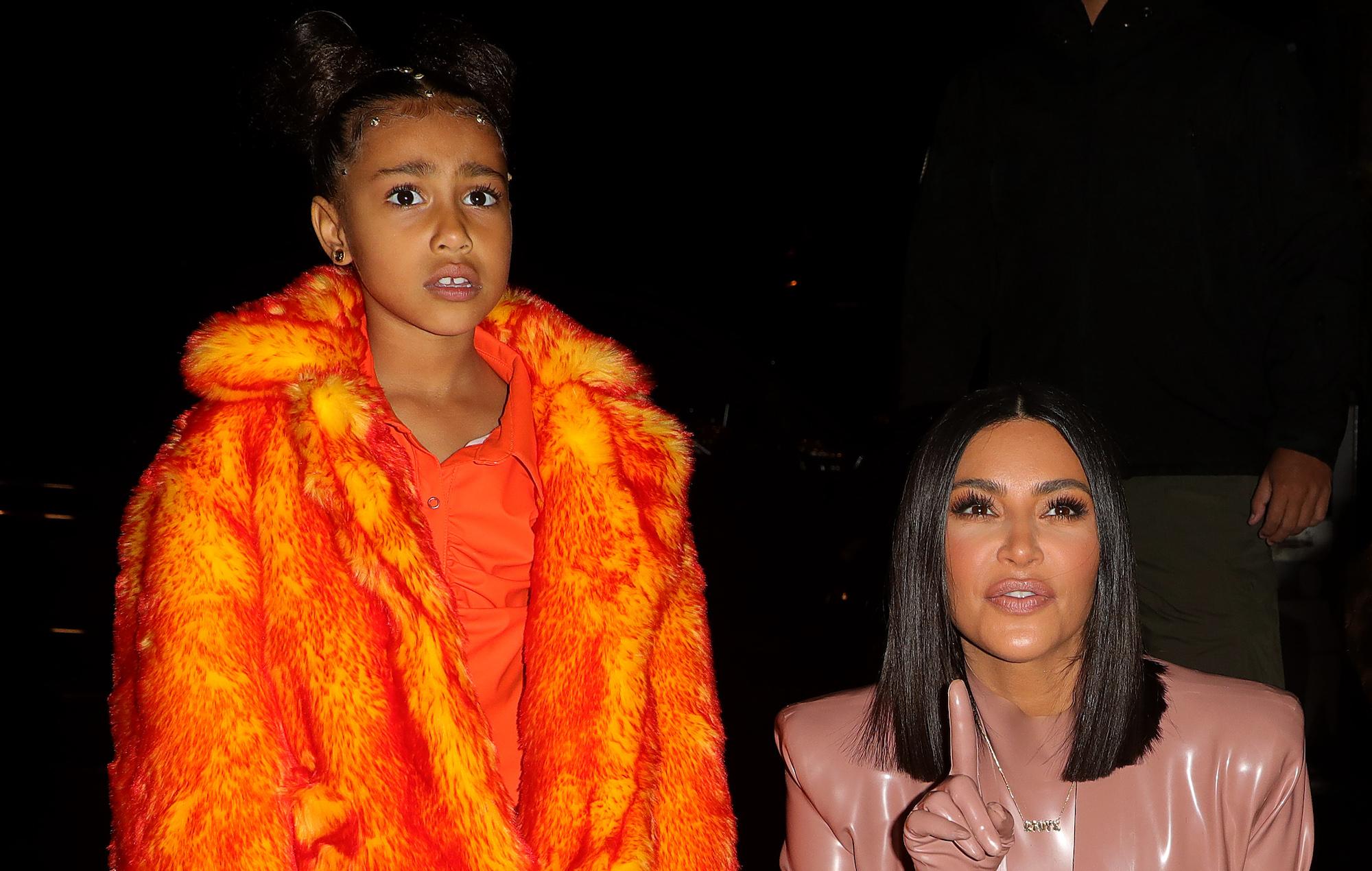 "Kim Kardashian says daughter North West is a ""goth girl"": ""She listens to Black Sabbath"""