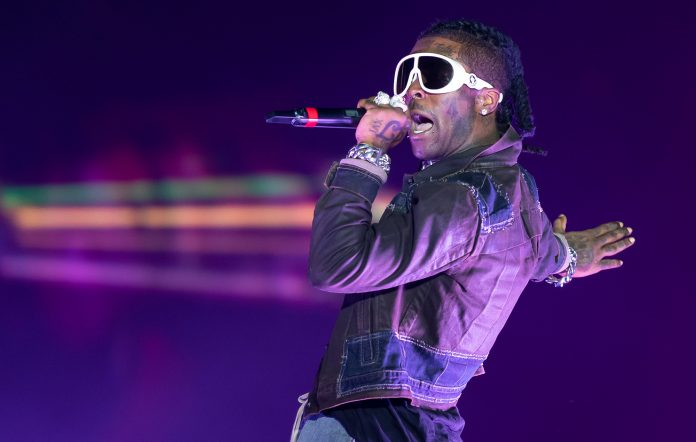 Lil Uzi Vert performs onstage during day 3 of Rolling Loud Miami 2021