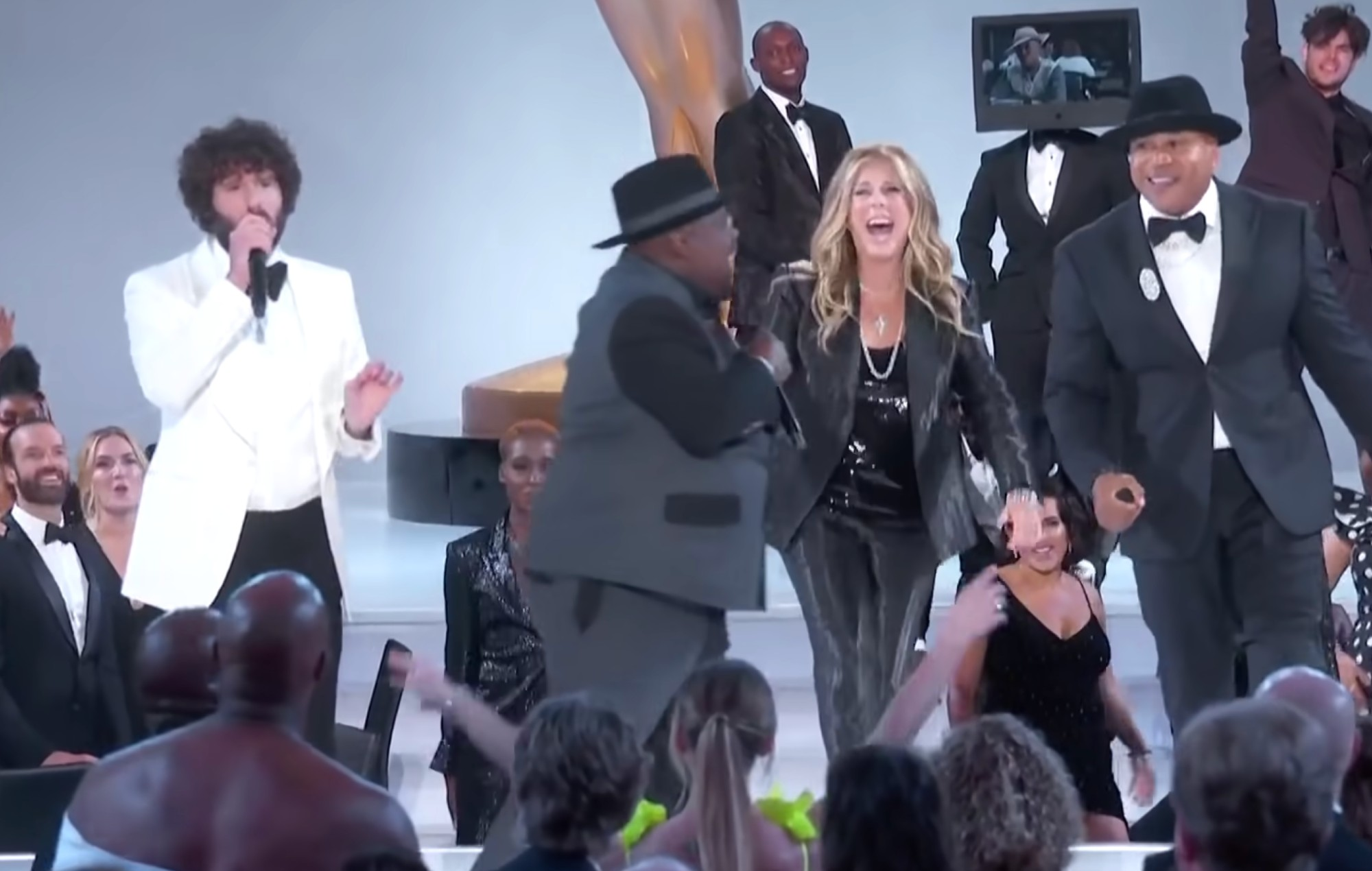 Watch Lil Dicky, LL Cool J and more pay tribute to Biz Markie at the Emmys