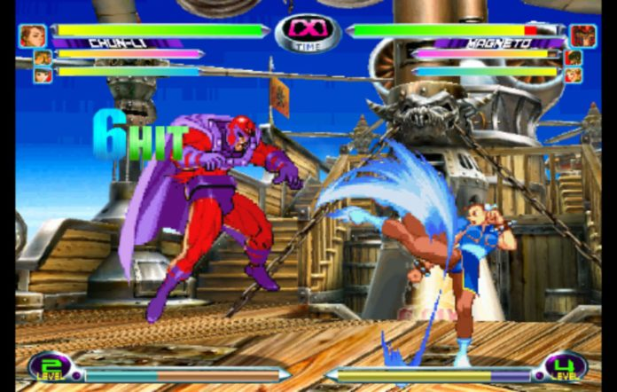 Marvel vs Capcom 2. Image credit: Disney/Capcom