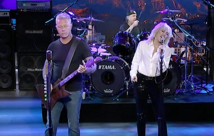 Metallica Miley Cyrus