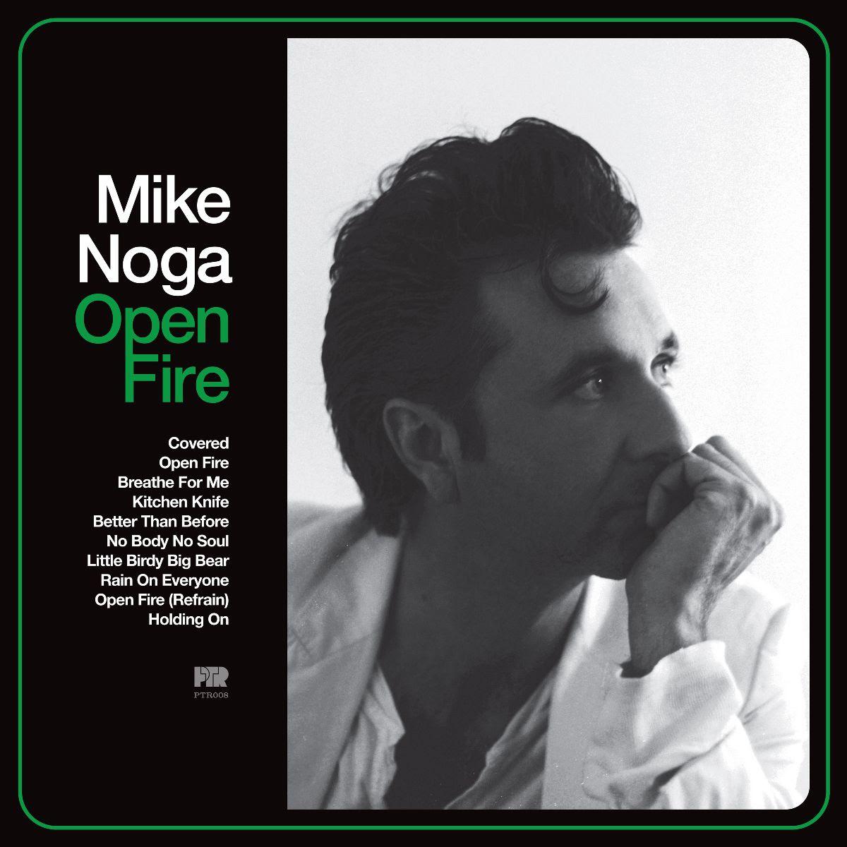 Mike Noga album Open Fire