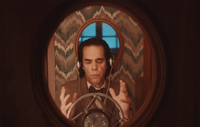 Nick Cave as H.G. Wells