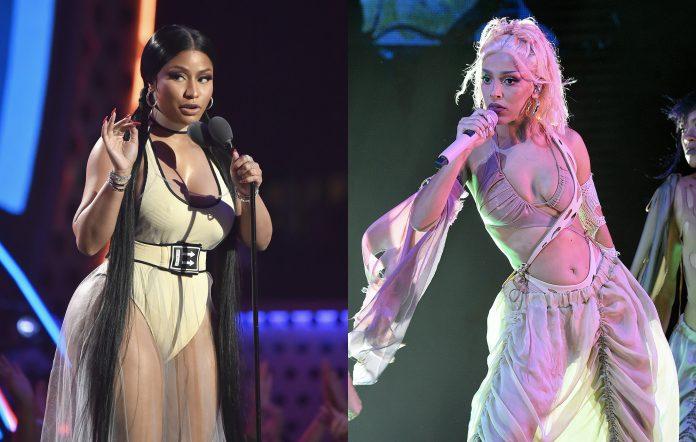 Nicki Minaj and Doja Cat